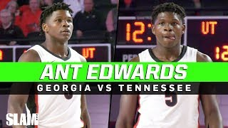 Anthony Edwards is LEGIT! 🔥💪Drops 20 Points in First Half