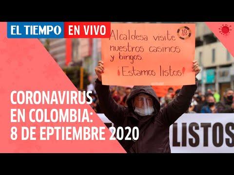 Coronavirus en Colombia: 8 de septiembre del 2020