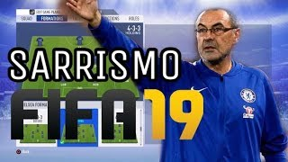 SARRISMO SU FIFA 19 | Tattiche & Istruzioni | FIFA 19 ITA HD