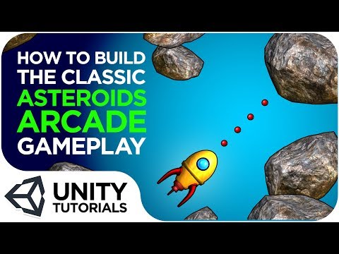How to Create the Iconic Asteroids Arcade Gameplay! Unity