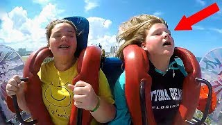 Girls Passing Out #6   Funny Slingshot Ride Compilation