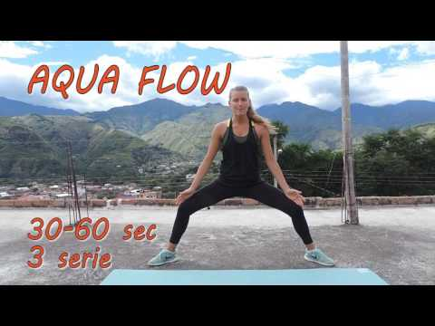 Esercizi calistenici semplici: #1 Aqua Flow