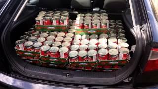 London - Calais Refugee Aid convoy supplies #2