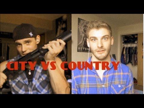CITY BOYS VS COUNTRY BOYS WITH DAVID LEVITZ!!