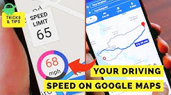 How to Enable Speedometer in Google Maps