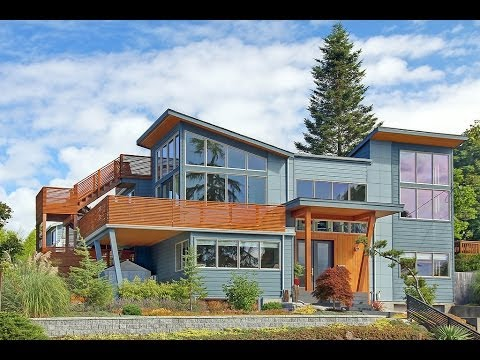 Modern Luxury Home In West Seattle