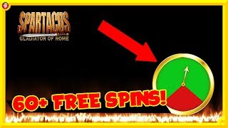 🛡️BIG GAMBLES & 60+ FREE SPINS on SPARTACUS?! 🛡️
