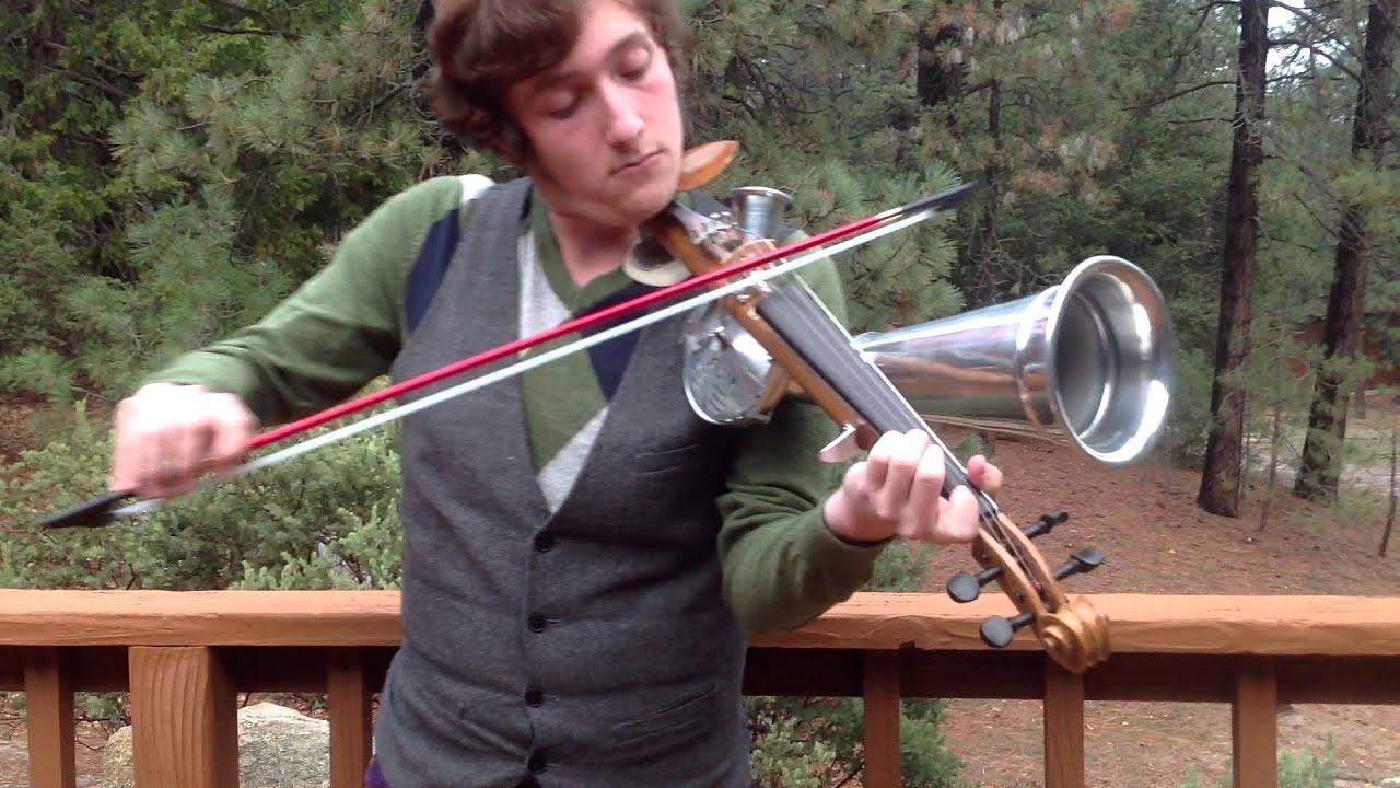 Stroh Horn Violin  Aluminum Horn