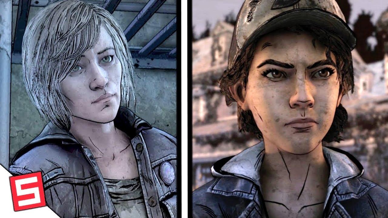 All Clementine And Violet Scenes The Walking Dead Final Season 4 Episode 1 Telltale Part 3