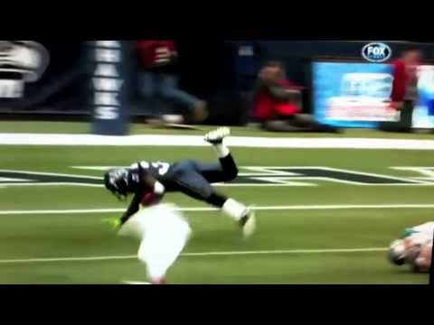 NFL - Jason Baker ankle tackle on Leon Washington