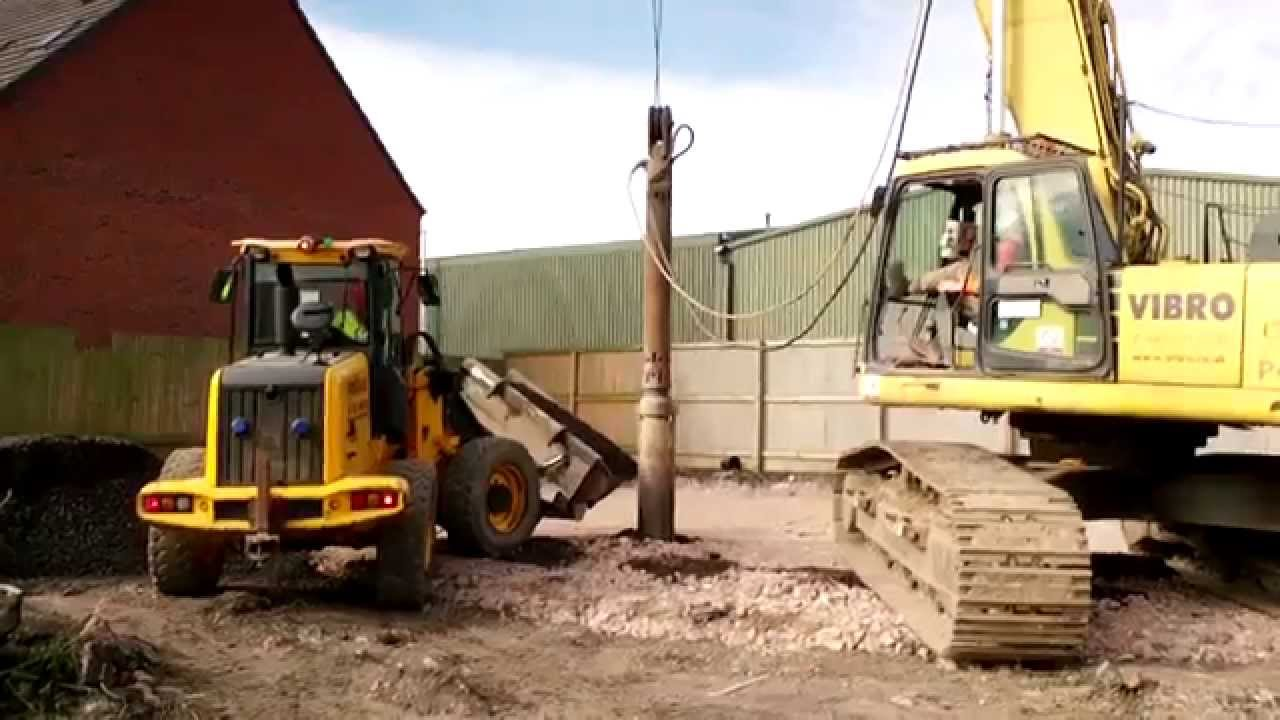 New homes vibro piling foundations for new homes we 39 re for Piling houses