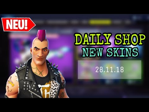 FORTNITE DAILY ITEM SHOP 28.11.18 | MÄNNLICHER POWERCHORD IST DA