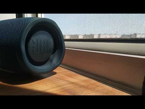 JBL CHARGE 4 HZ BASS TEST