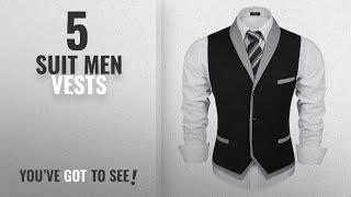 Top 10 Suit Men Vests [Winter 2018 ]: Coofandy Men