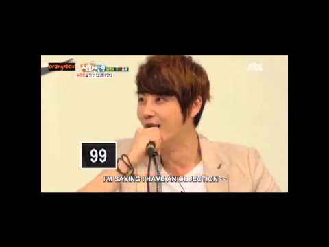 Shin Hye sung getting cute angry because of Eric