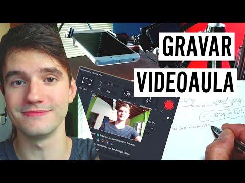 Como Gravar Videoaula