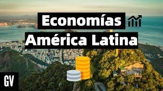 Los países más poderosos económicamente en América Latina 2020 HD