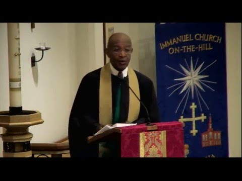 Sermon- The Rev. Dr. James A. Forbes