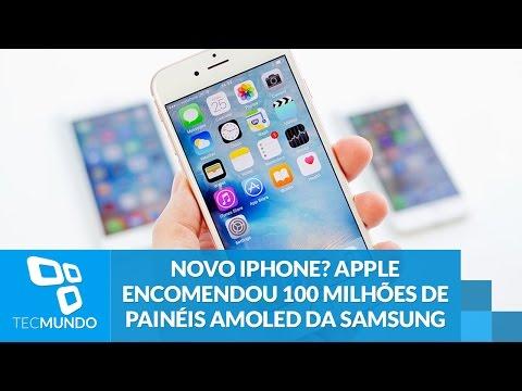 Novo IPhone? Apple Encomendou 100 Milhões De Painéis AMOLED Da Samsung