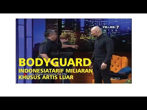DEDDY KEDATANGAN BODYGUARD ARTIS LUAR ASAL INDONESIA  Hitam Putih 18 Juli 2017