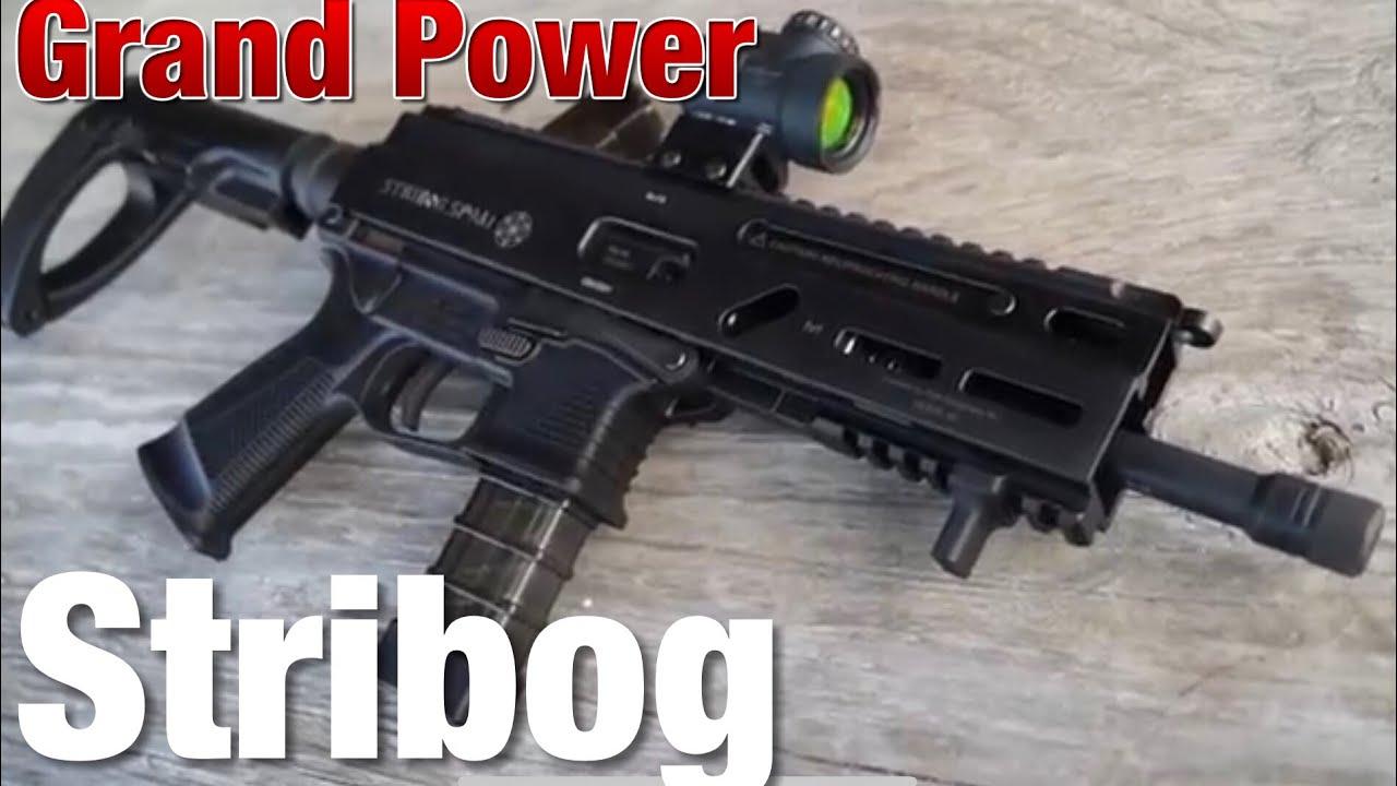 Grand Power Stribog Carbine Pistol 9mm 8
