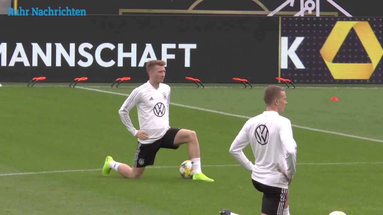 Reus und Brandt vor dem Test gegen Argentinien