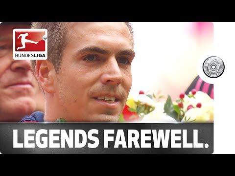 Auf Wiedersehen Lahm, Adios Alonso! Two Bundesliga legends bid farewell.