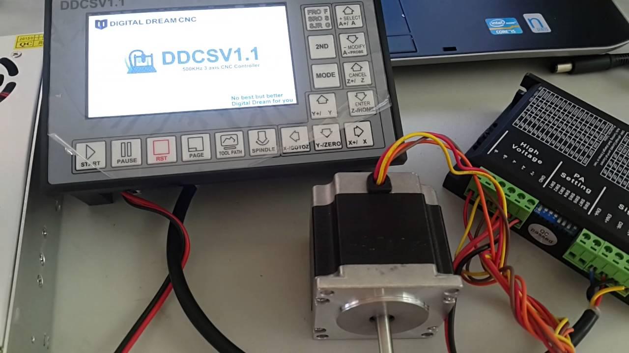 Ddcs Digital Dream Offline Cnc Controller Pm 727m Electrical Wiring Part 2 Youtube