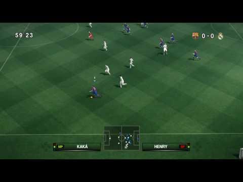 PES 2010 PC / FC Barcelona - Real Madrid 1/2  HD 