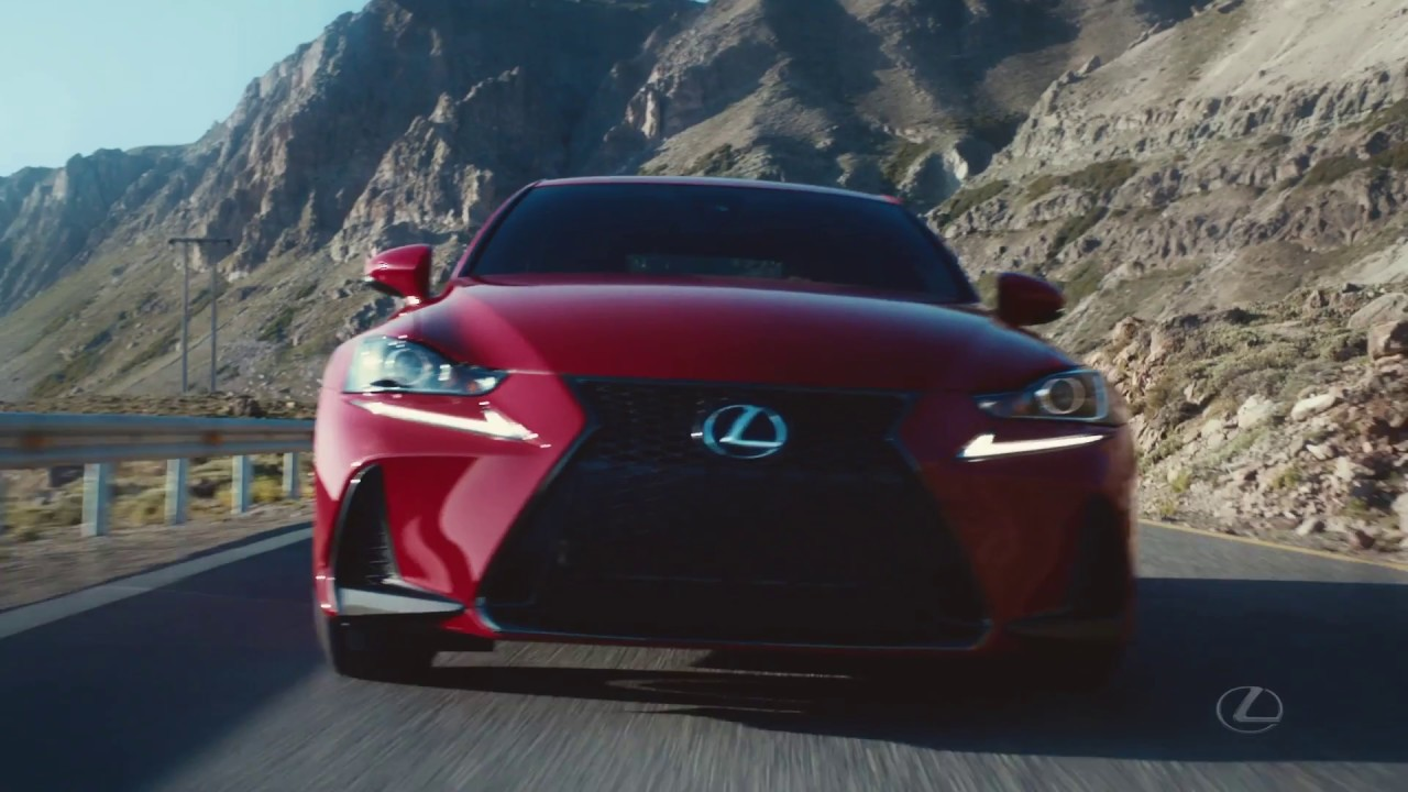 La Lexus IS 2017 - YouTube