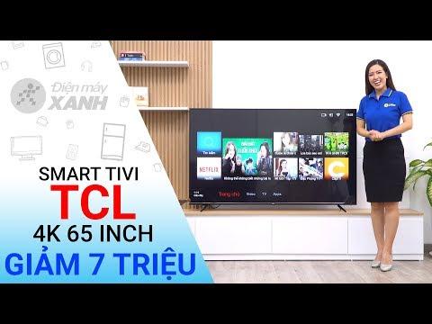 Dòng Smart Tivi TCL 4K P6 (43 Inch, 65 Inch)