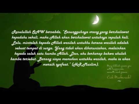 Sholawat Ya Habibal Qolbi Beserta Artinya