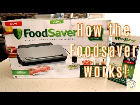 How the FoodSaver