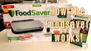 How the FoodSaver VS3000 works…