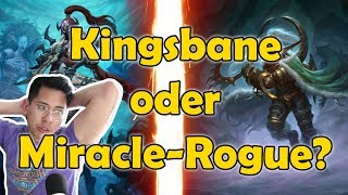 Kingsbane Rogue oder Miracle-Rogue? | Witchwood Hearthstone | iamThanh