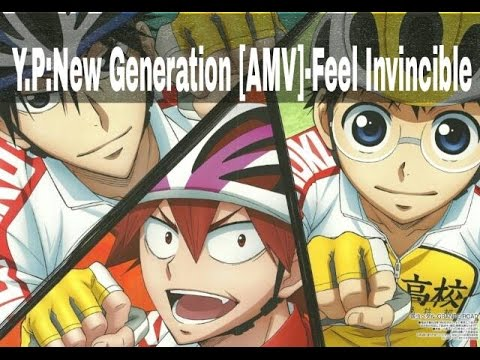 Yowamushi Pedal:New Generation [AMV]-Feel Invincible