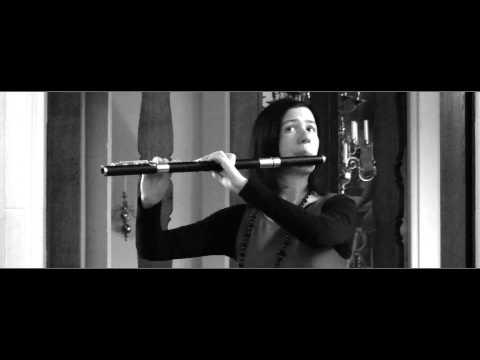 C. P. E. Bach Solo Sonata for Flute in A Minor - 1st Movement 'Poco Adagio'