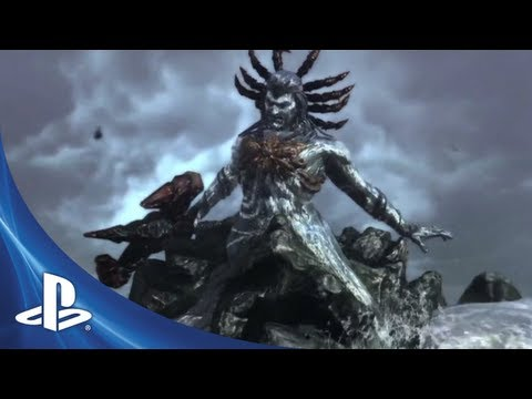 God of War Top 5 Epic Moments - The Brutal Death of Poseidon (#3)