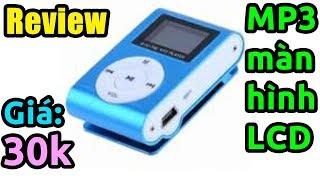 Trên tay máy nghe nhạc MP3 có màn hình LCD giá rẻ cực đã