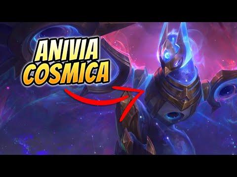 🌟 ¡PROBAMOS LA NUEVA SKIN DE ANIVIA CÓSMICA! ¡ES PRECIOSA! 🌟 Cosmic Anivia Mid Gameplay S11