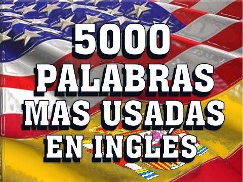 vocabulario---pronunciaciÓn---vocabulary-spanish-english---most-common-english-words.