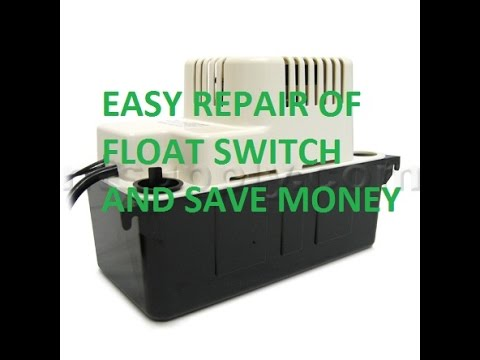 little giant float switch repair