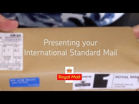 Help and support - Presenting your International Standard mail