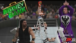 WWE 2K15 Gameplay - Money in The Bank - combate al Extremo todo por el maletín !!!