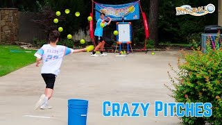 Blitzball Game 2*CRAZY PITCHES* | NEA Blitzball