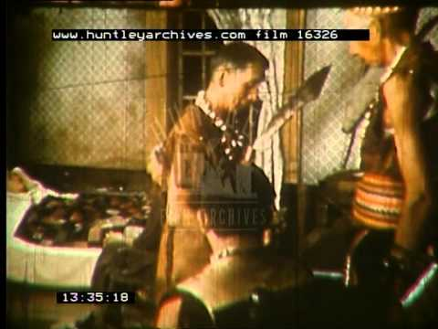 Life among the Canadian Iroquois Native Americans, 1950's -- Film 16326