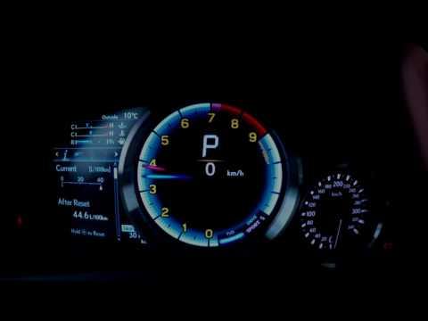 Lexus GS F 5.0 V8 477 KM przyspieszenie ( acceleration ) 0-100km/h