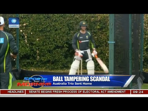 Australia's Ball Tampering Scandal,World Cup Preps In Focus Pt.1 |Sports This Morning|