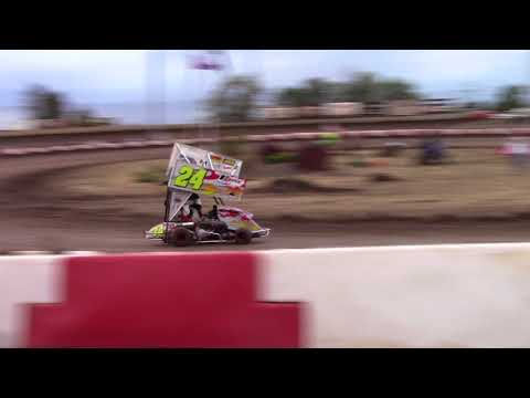 Willamette Speedway, OR - Caged Frenzy - 125cc Cage-Kart Heat #1 - September 9, 2017