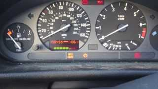 BMW E36 Reset Oil Service Light